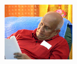 Sri Chinmoy writing