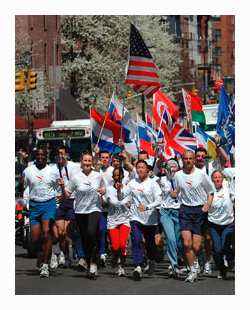 The Sri Chinmoy Oneness-Home Peace Run